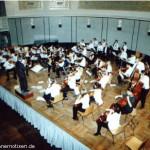 Das Jugend-Orchester unter der Leitung von C. Wangler