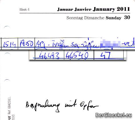 Faksimile der Beweismittel | Graphik: DerGloeckel.eu