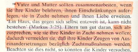 Faksimlie aus Zeugen Jehovas-Literatur