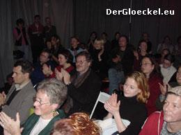 begeistertes Publikum bei gefilte fish | Foto: DerGloeckel.eu