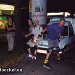 Pause bei der Münchner Blade Night