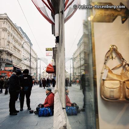 Eine Zivilstreife der Wiener Polizei