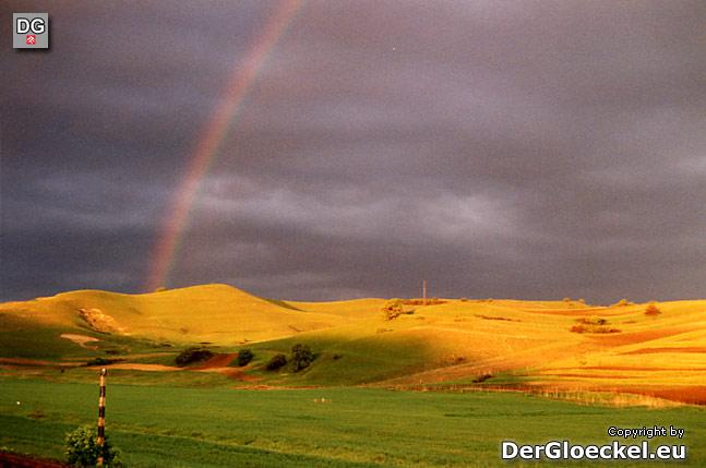 Landschaft in Rumänien
