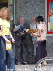 Zeugen Jehovas auf Seelenfang